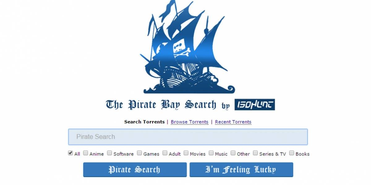 IsoHunt resucita a The Pirate Bay en un nuevo dominio