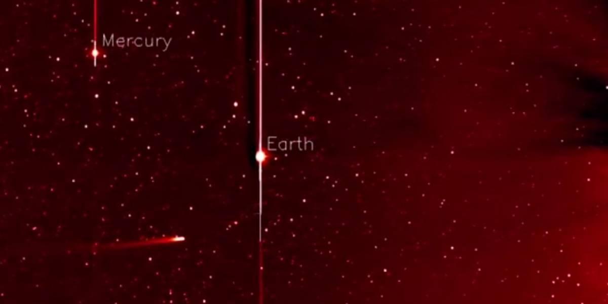 NASA capta al cometa ISON en camino al Sol (Video)