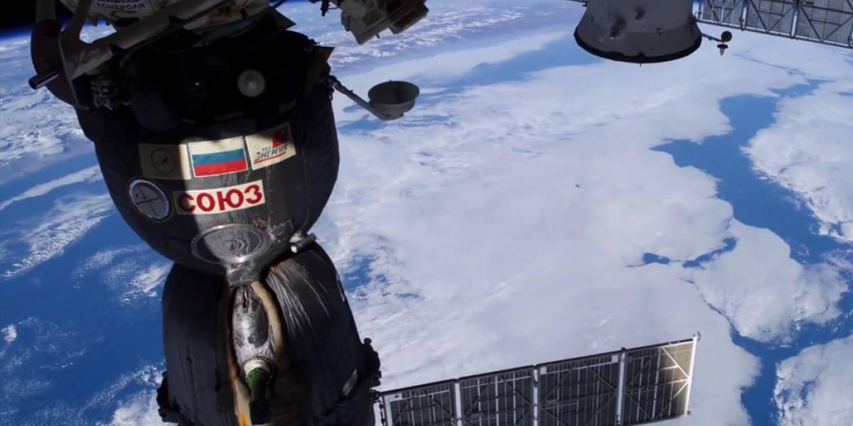 La Tierra desde el Estación Espacial Internacional en 4K