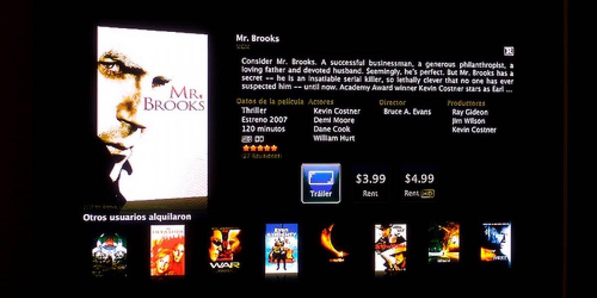 La iTunes Store ya ofrece alquiler y venta de películas en España y México