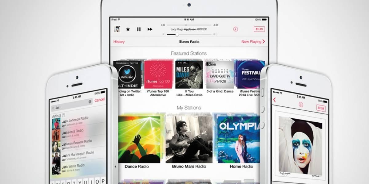 iTunes Radio estará disponible el 18 de septiembre