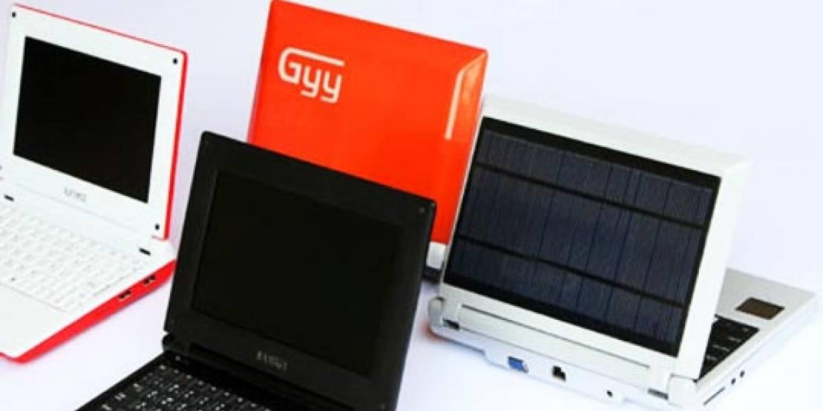 iUnika Gyy: Una netbook ecológica para la educación