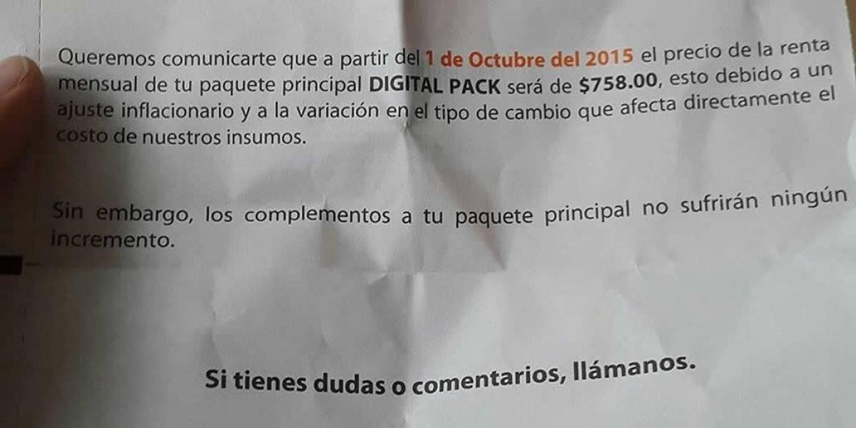 Revelan que aumento en las tarifas de Izzi Cablevisión no está justificado