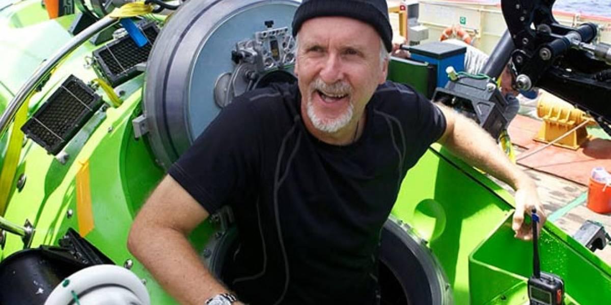 James Cameron tocó fondo... En el océano