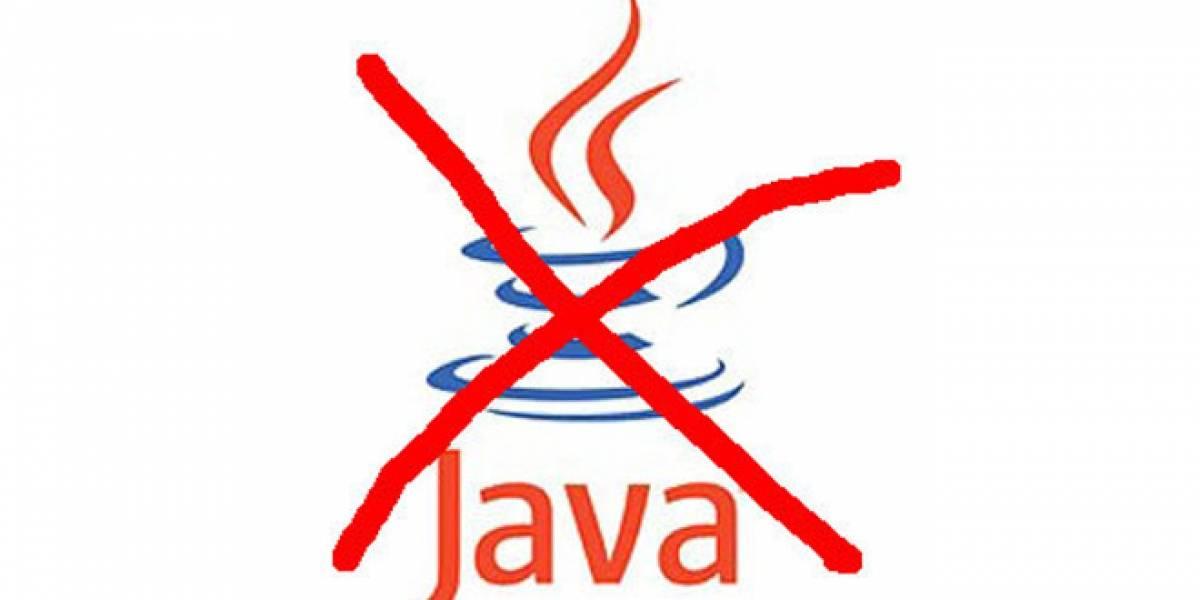 F-Secure insta a los usuarios a que dejen de usar Java