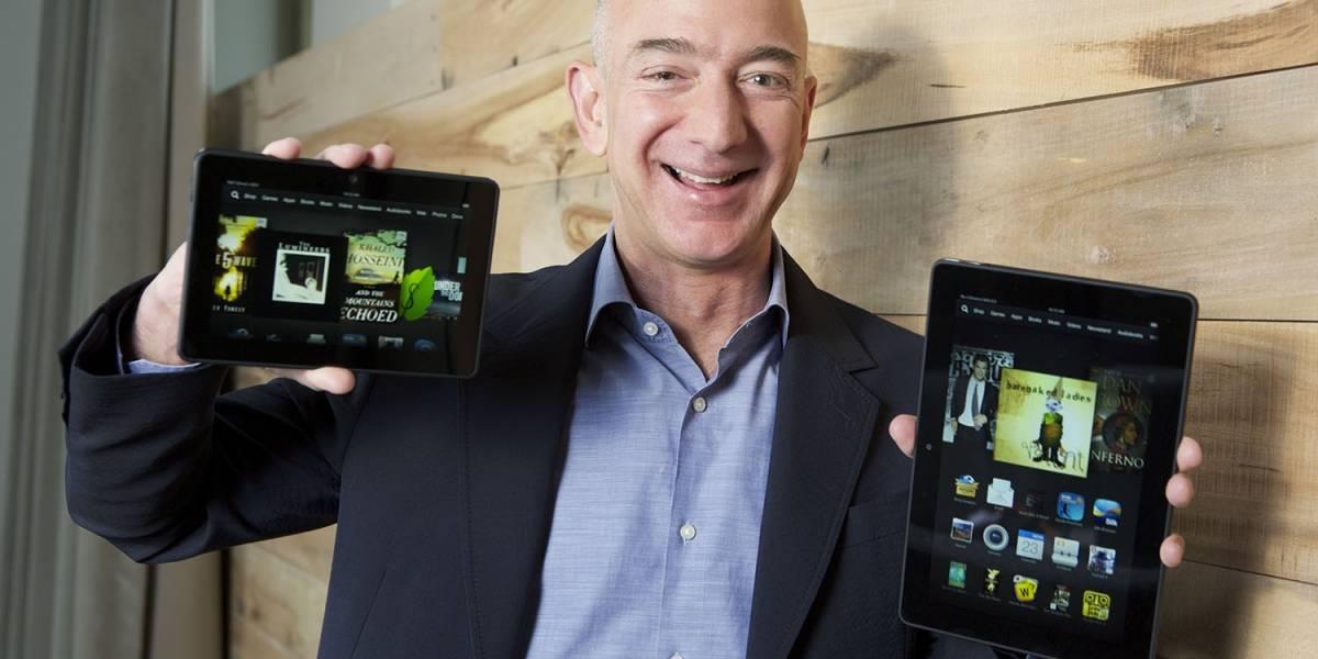 Amazon presenta nuevos Kindle Fire HDX