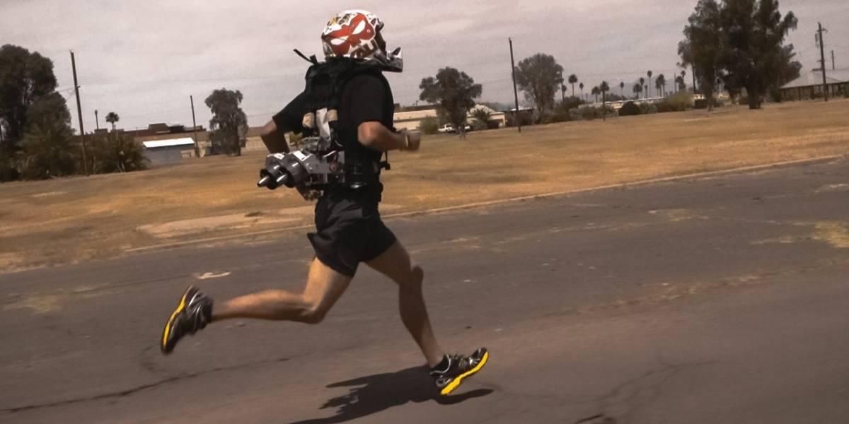 DARPA financia proyecto de cinturón cohete para correr más rápido