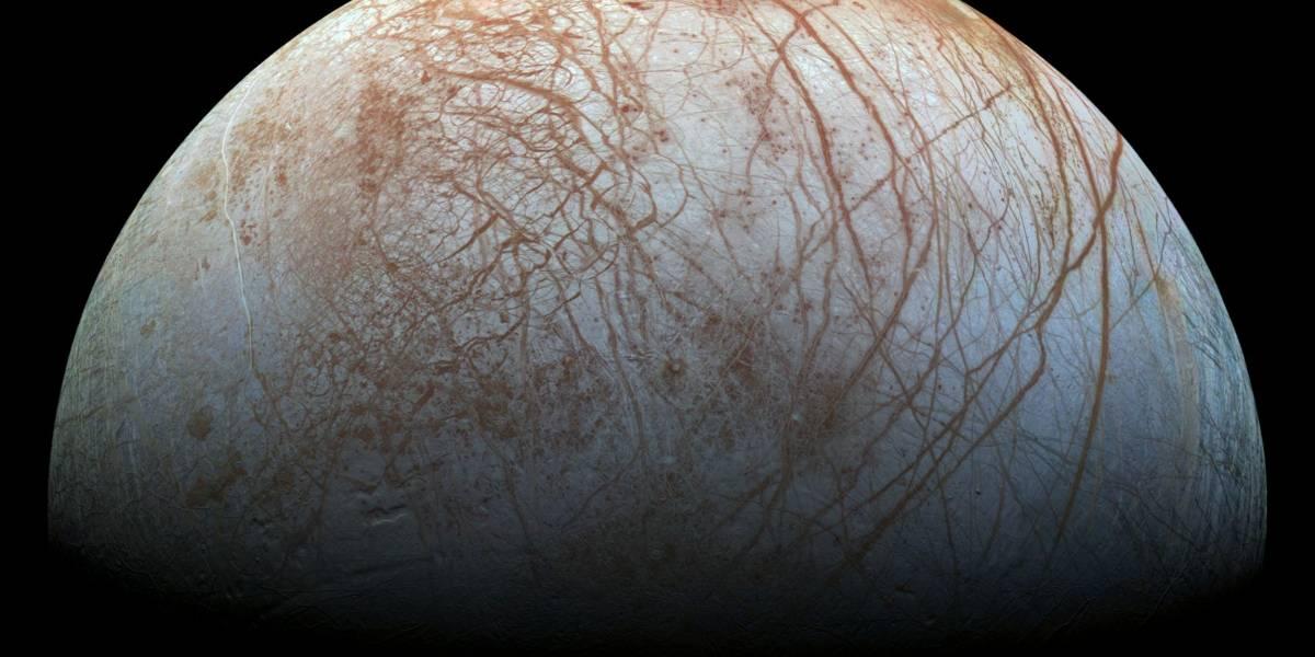 NASA revela imagen remasterizada de Europa, la luna de Júpiter