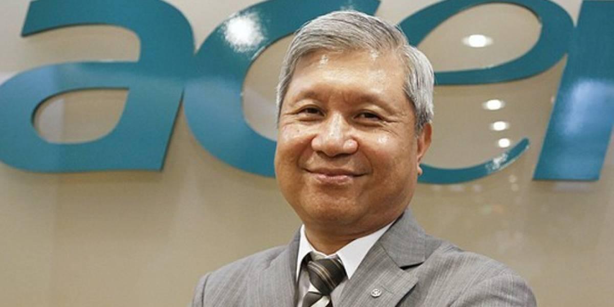 J.T. Wang, el CEO de Acer, renuncia tras presentación de resultados