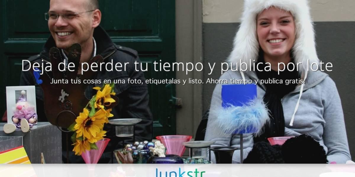 "Junkstr, vende tus ""cachureos"" por lotes [FW Startups]"