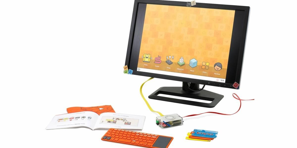 Kano, la computadora DIY que enseña a programar a los niños