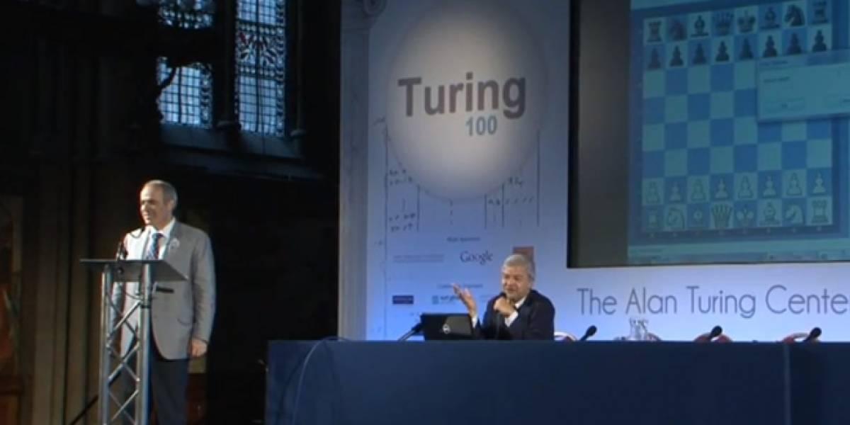 Garry Kasparov se enfrenta a programa de ajedrez de 60 años, creado por Turing