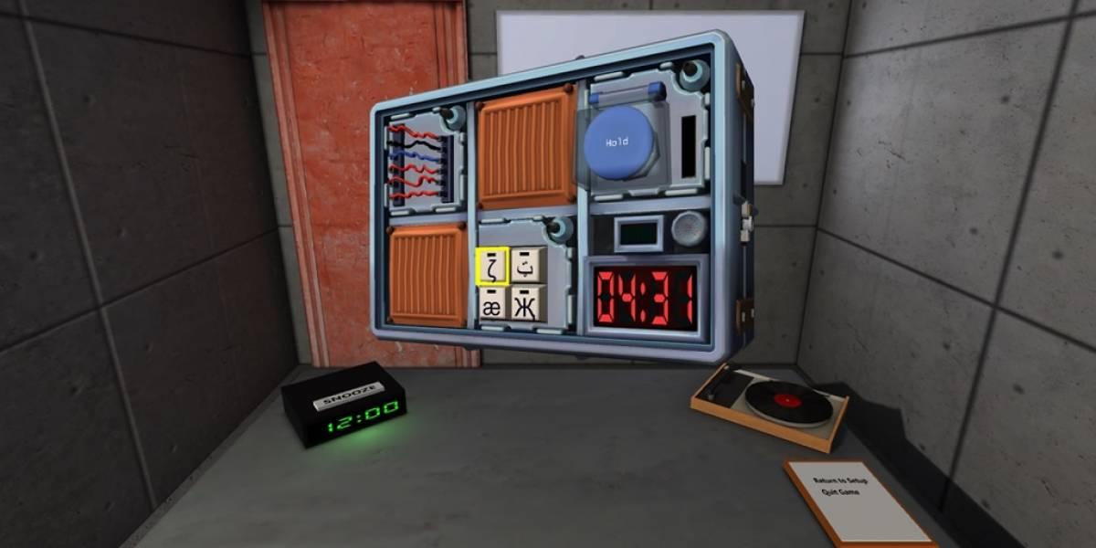 Desactiva bombas con este experimento de Oculus Rift