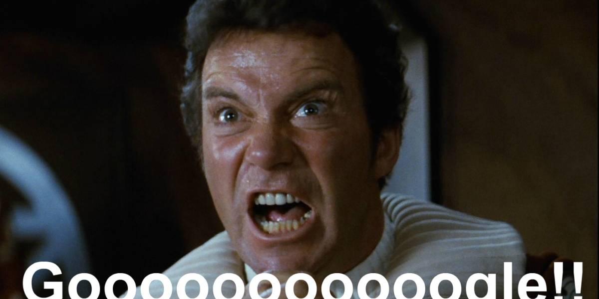Google bloqueó (por un momento) la cuenta de G+ de William Shatner