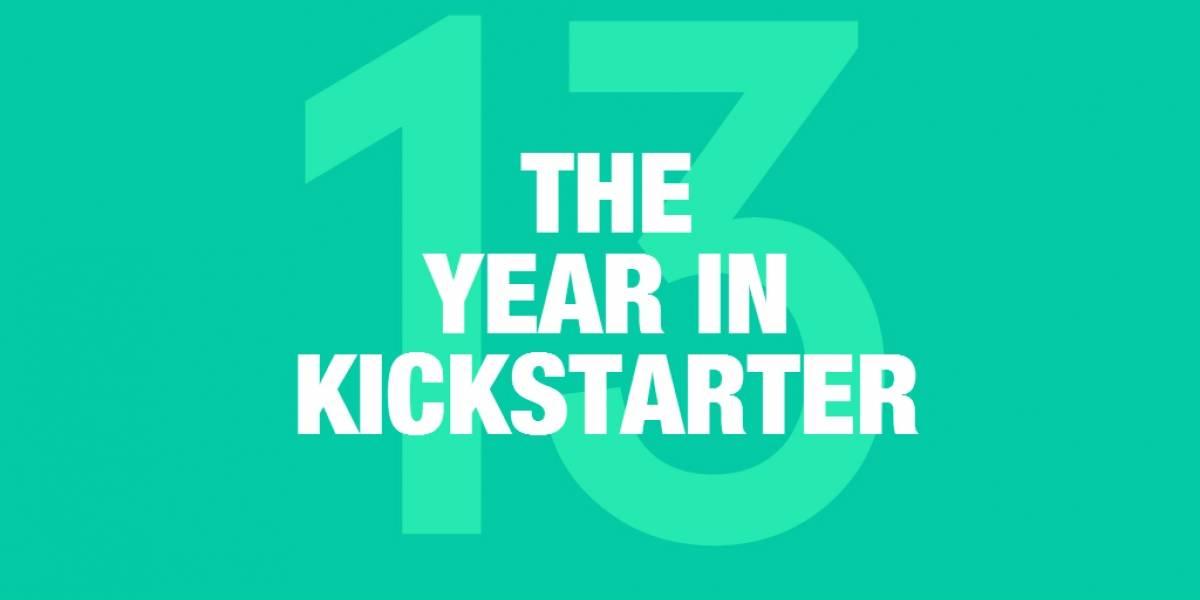 Kickstarter recaudó USD$480 millones en 2013