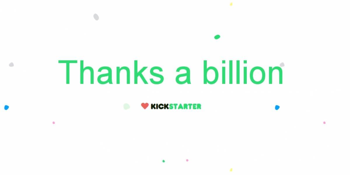 Kickstarter supera los USD$1.000 millones en aportes