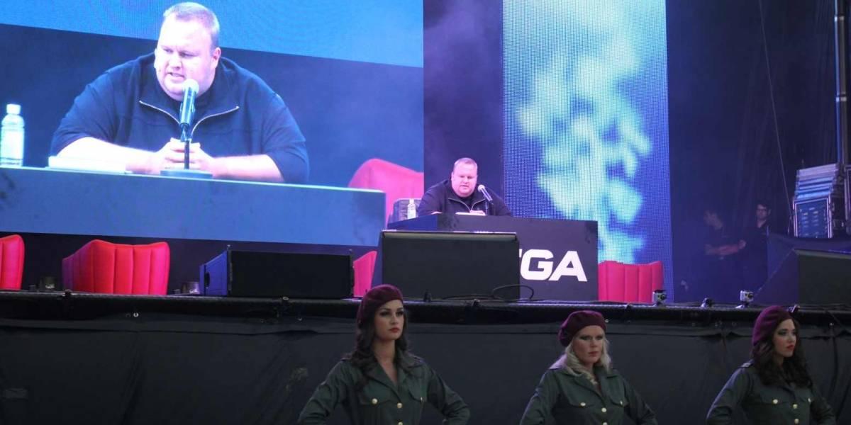Video: Ve la delirante inauguración de Mega en Nueva Zelanda