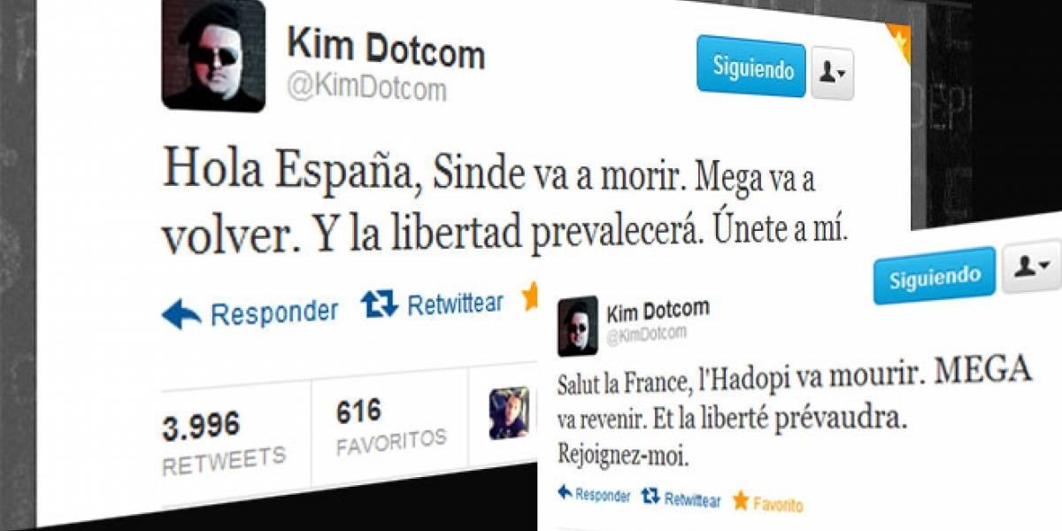 """Dotcom: """"Hola, España. Sinde va a morir. Mega va a volver"""""""