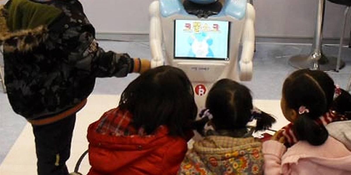 Corea quiere llevar su robot-maestro a las escuelas del mundo