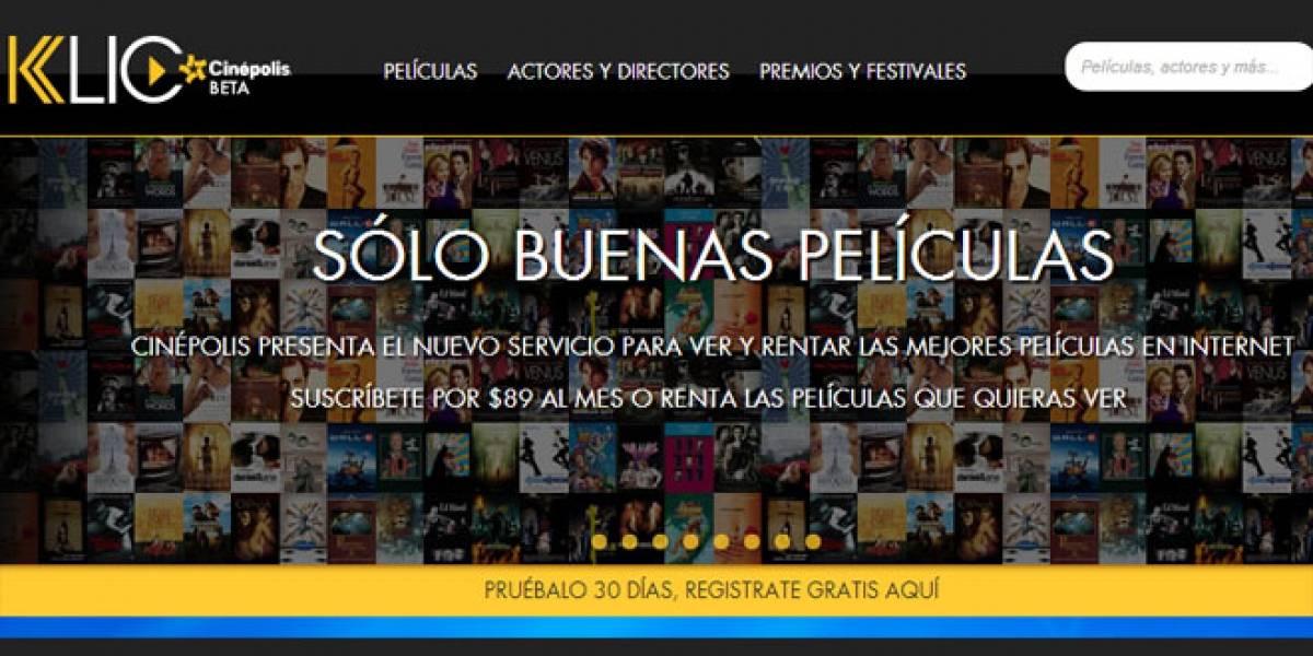 México: Cinépolis lanza servicio de streaming y renta de películas