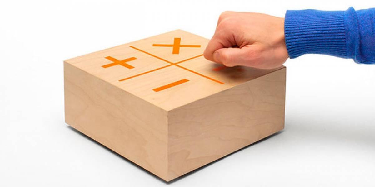 Knock Knock: La calculadora de madera con Arduino