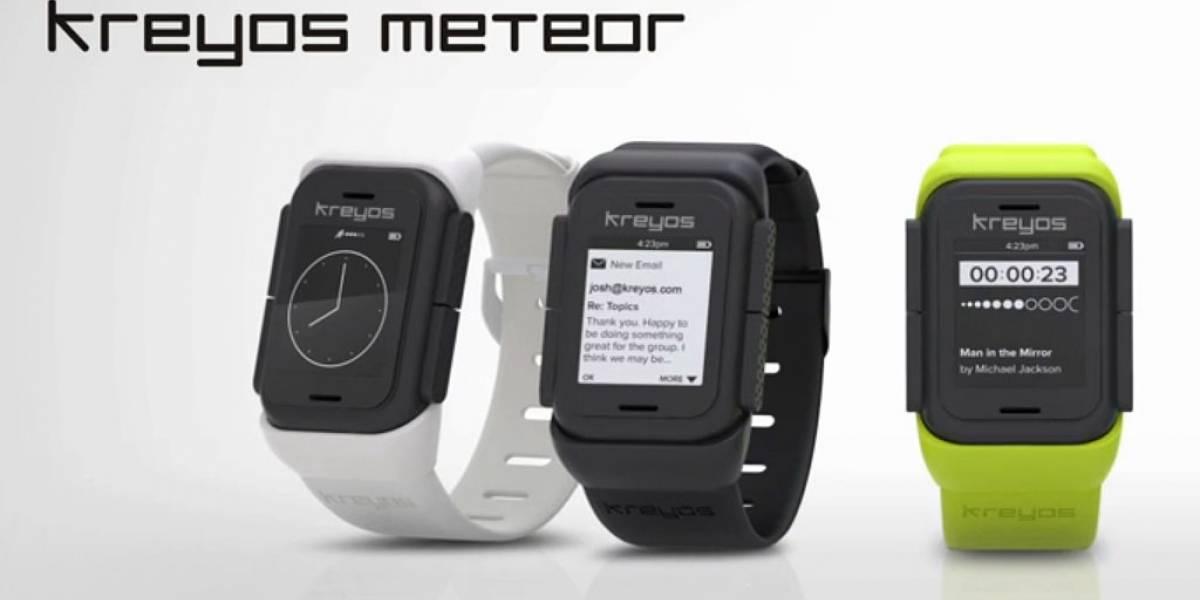 Kreyos Meteor es otro más que entra a la lista de relojes inteligentes