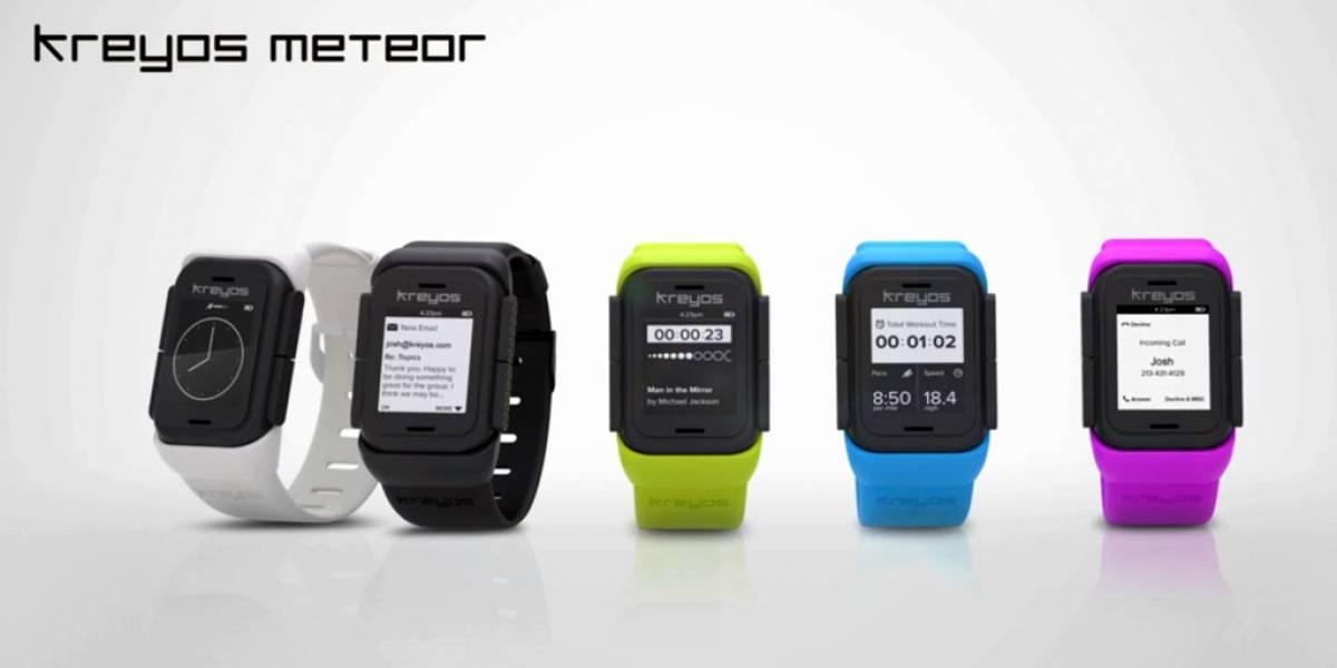 El reloj inteligente Kreyos Meteor ya supera el millón de dólares en Indiegogo
