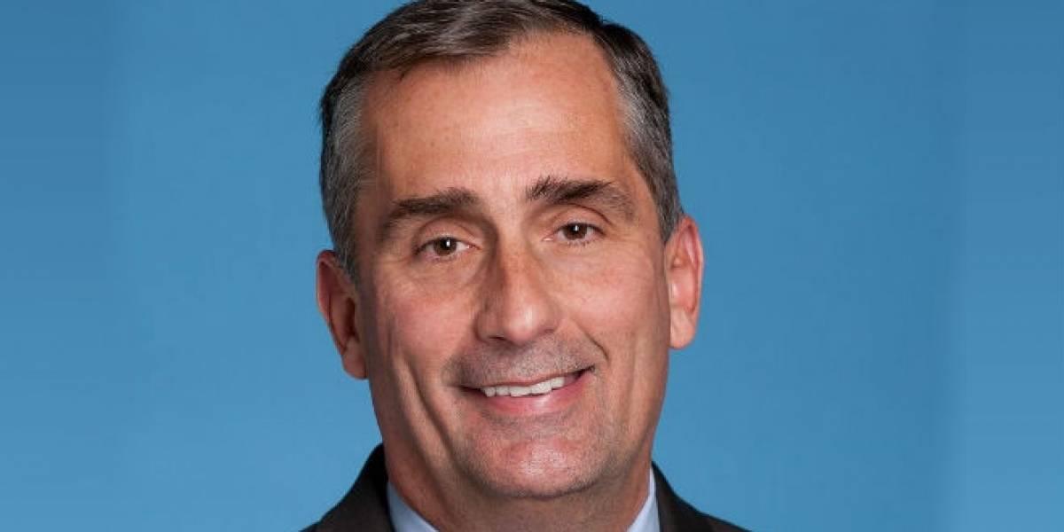 Intel nombra a Brian Krzanich como sucesor del CEO Paul Otellini