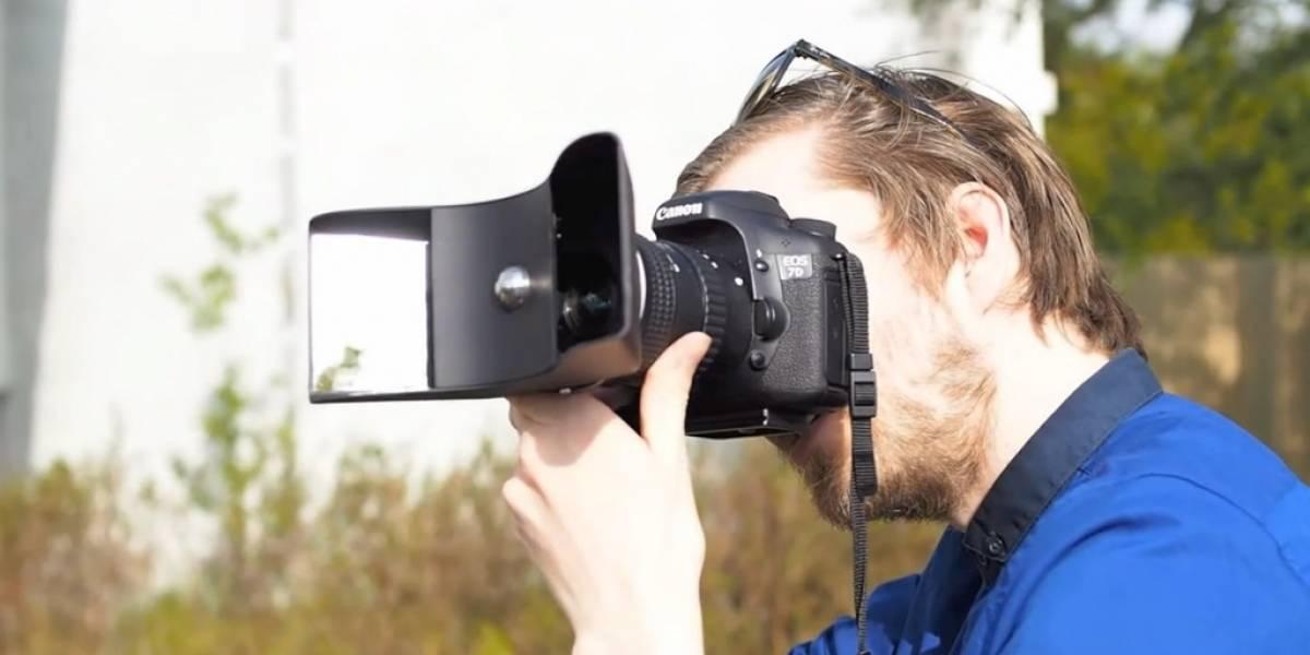 Estos accesorios permiten tomar fotos en 3D