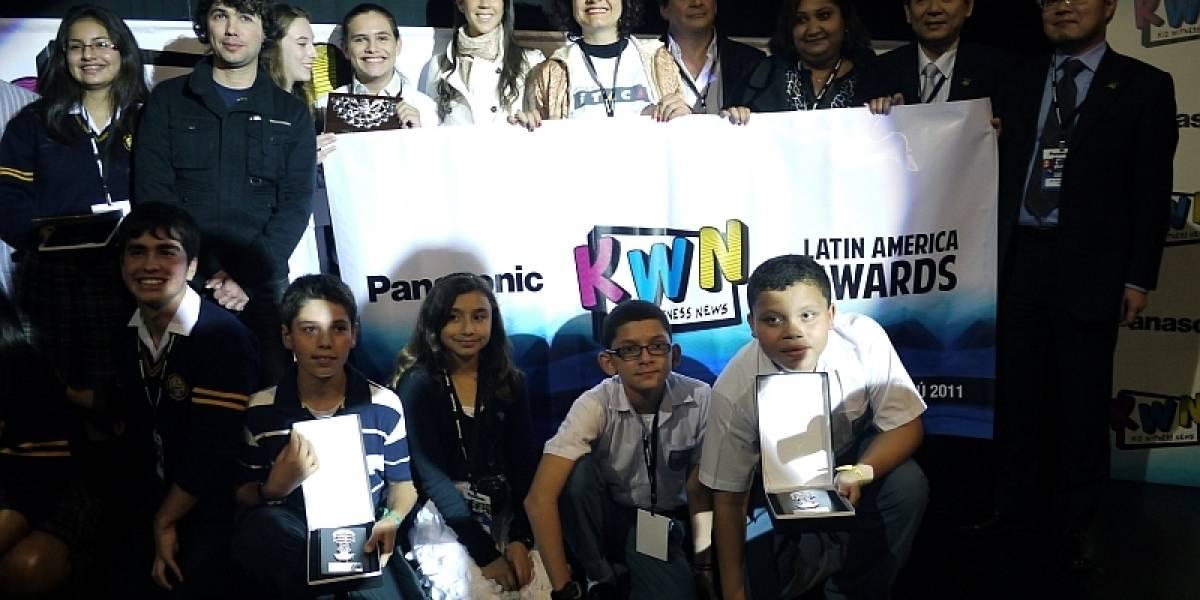 Estos son los ganadores del Kid Witness News Latinoamérica 2011