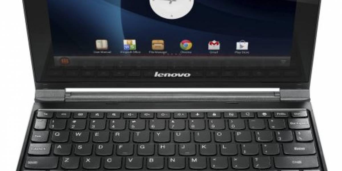 Lenovo lanza el IdeaPad A10, un notebook con Android