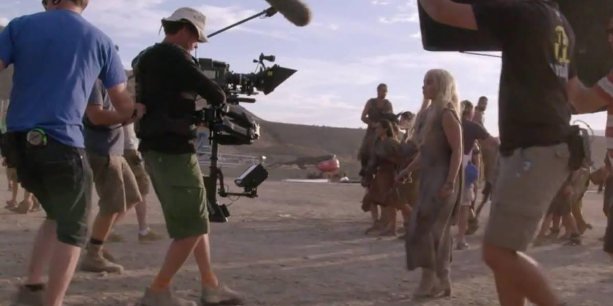 Mira este detrás de cámaras de la sexta temporada de Game of Thrones