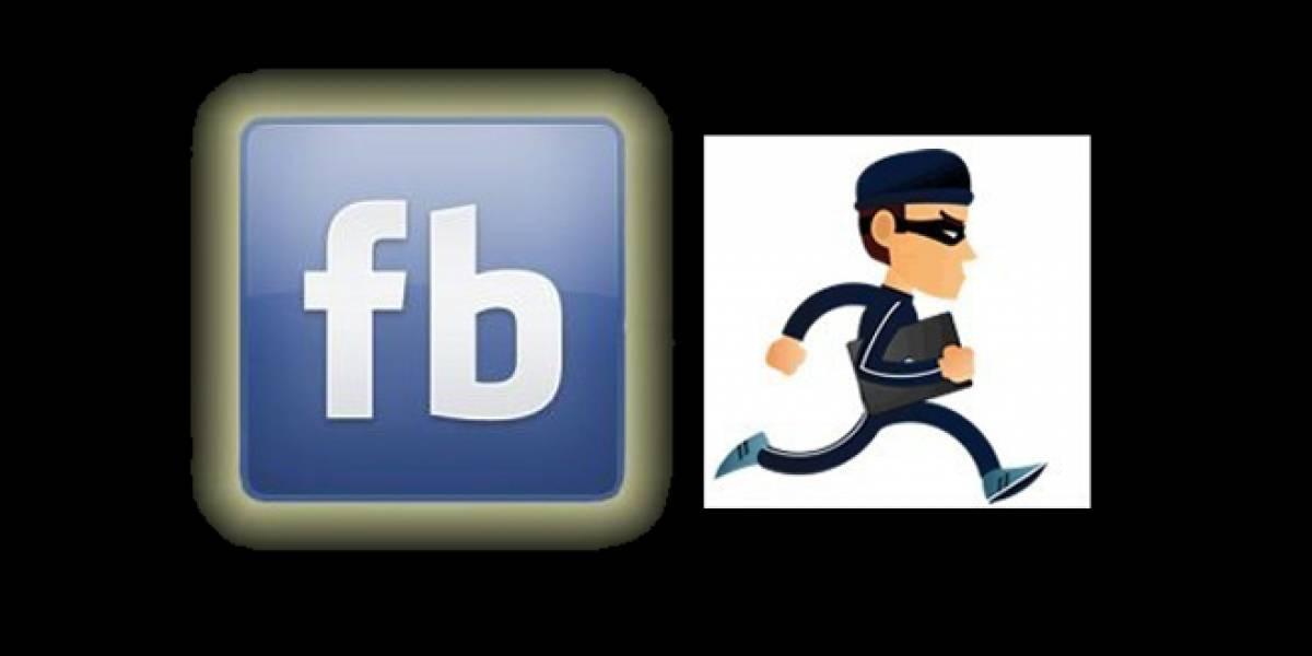 Asalta cibercafé pero se le olvida cerrar su cuenta de Facebook