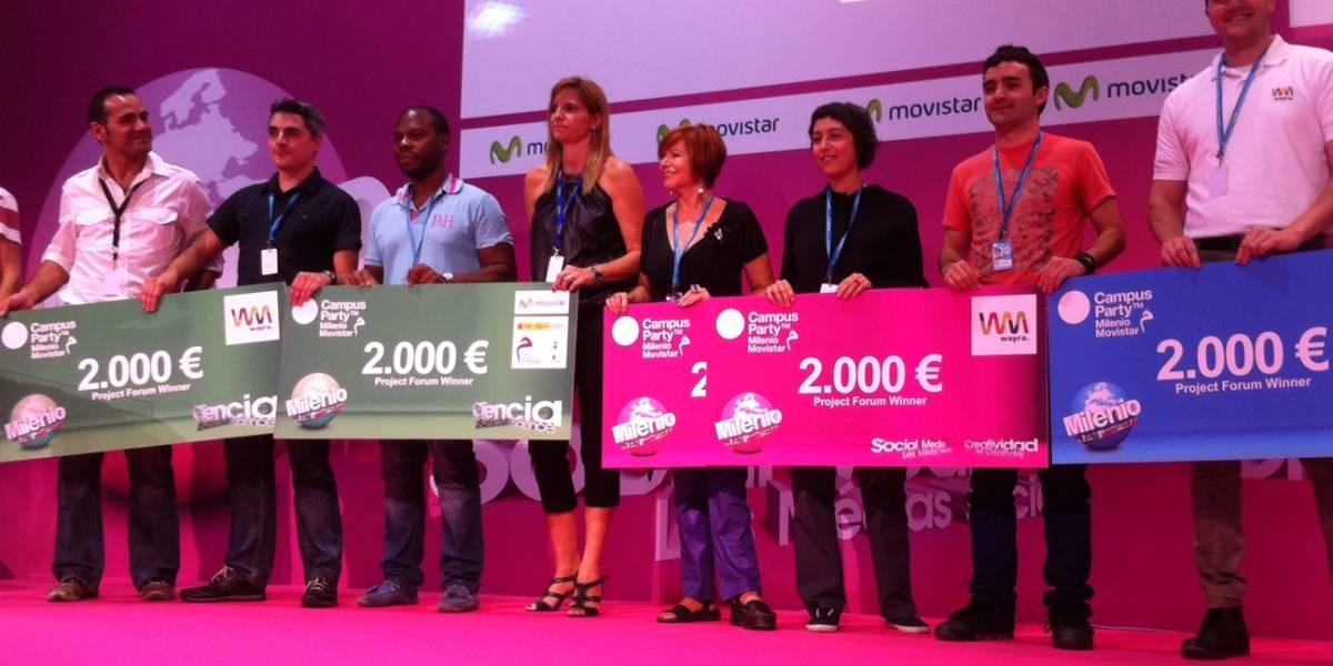 #cpmilenio: Los proyectos ganadores del Campus Party Milenio