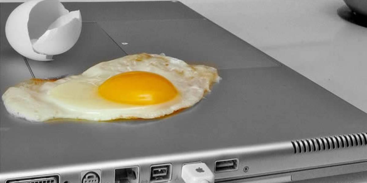 """Usar laptops sobre la falda podría """"cocinarte"""" los testículos"""