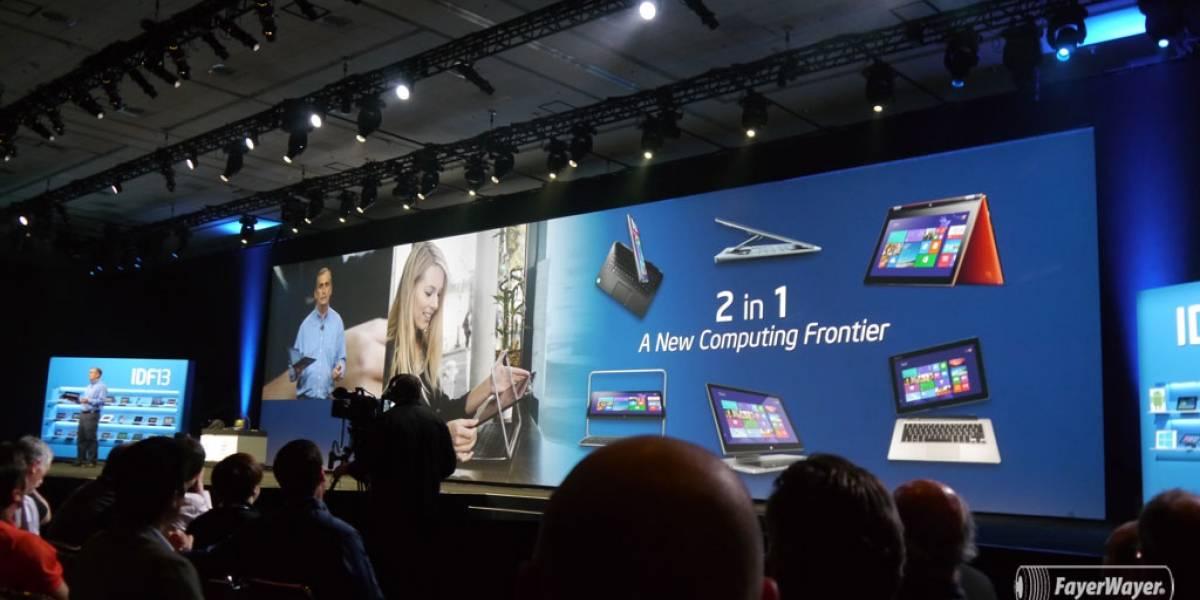 Intel promete laptops con procesadores de 14 nm para 2014