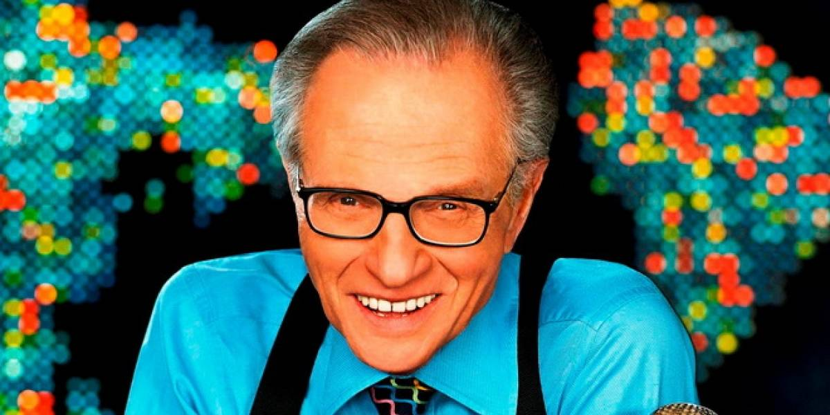 Larry King estrena programa en canal de Carlos Slim
