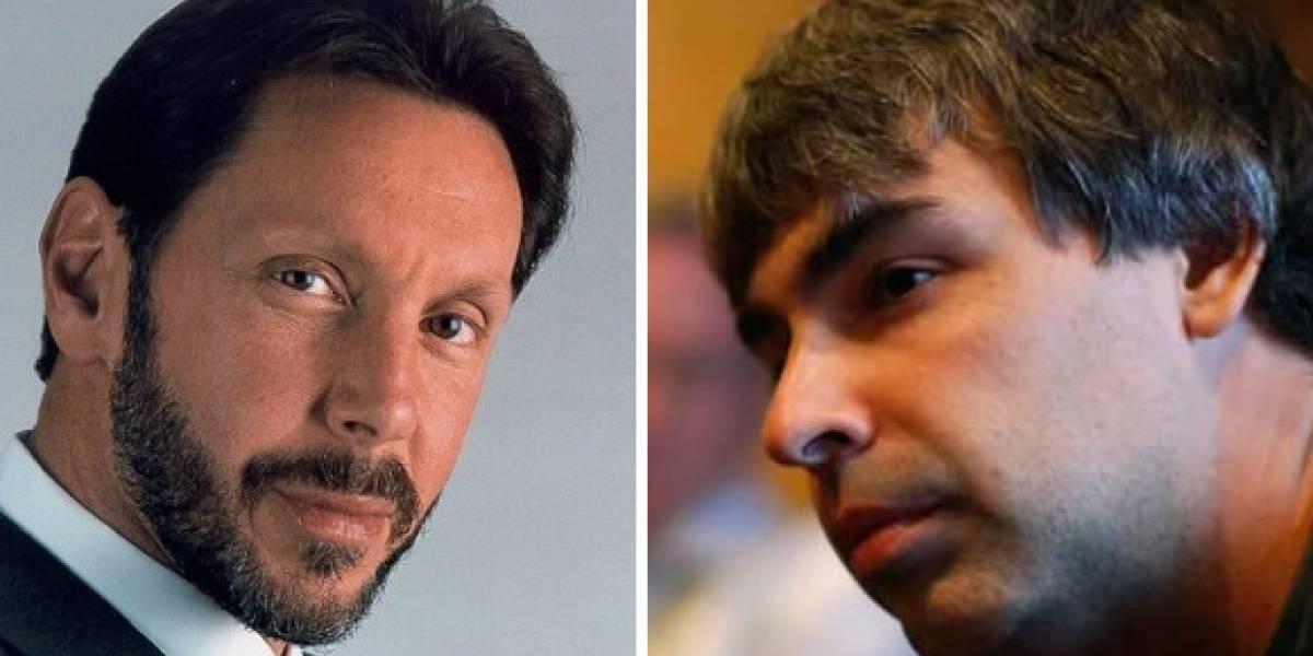 Juez quiere que Larry Ellison y Larry Page resuelvan la pelea entre Oracle y Google