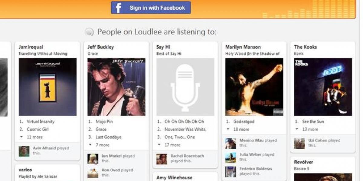 Loudlee: una especie de Pinterest musical