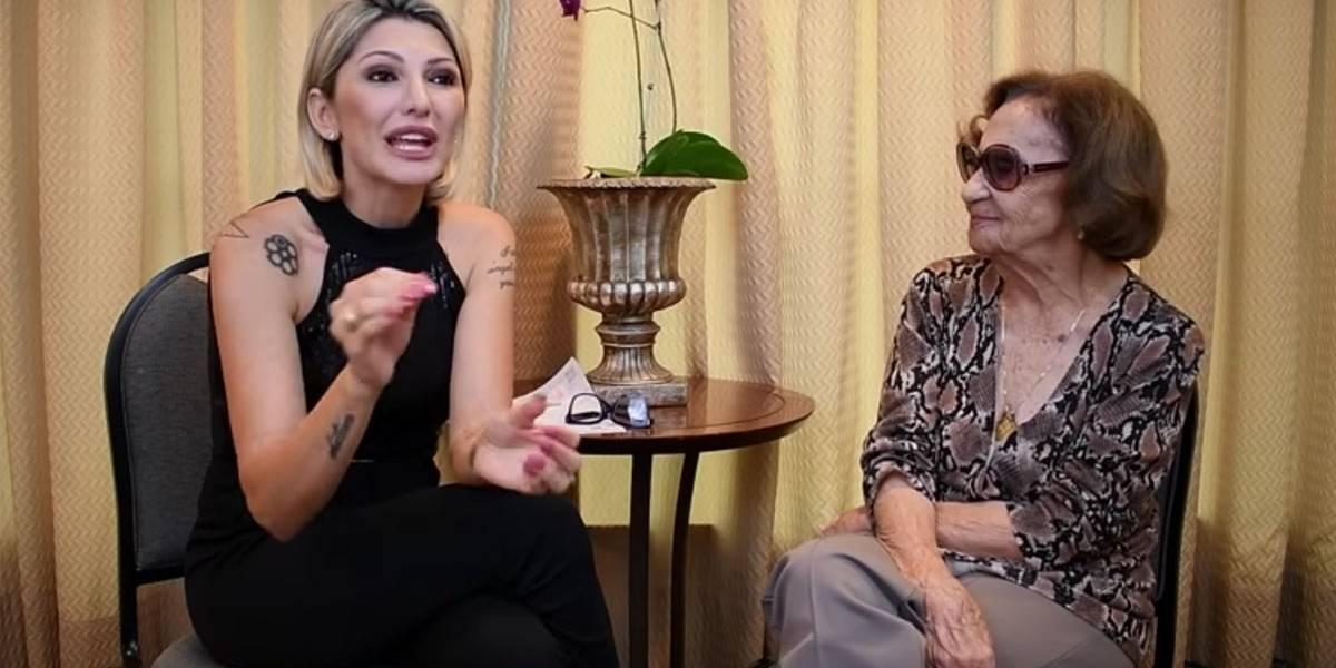 'Não vou deixar de gostar da vida, diz Laura Cardoso no Youtube