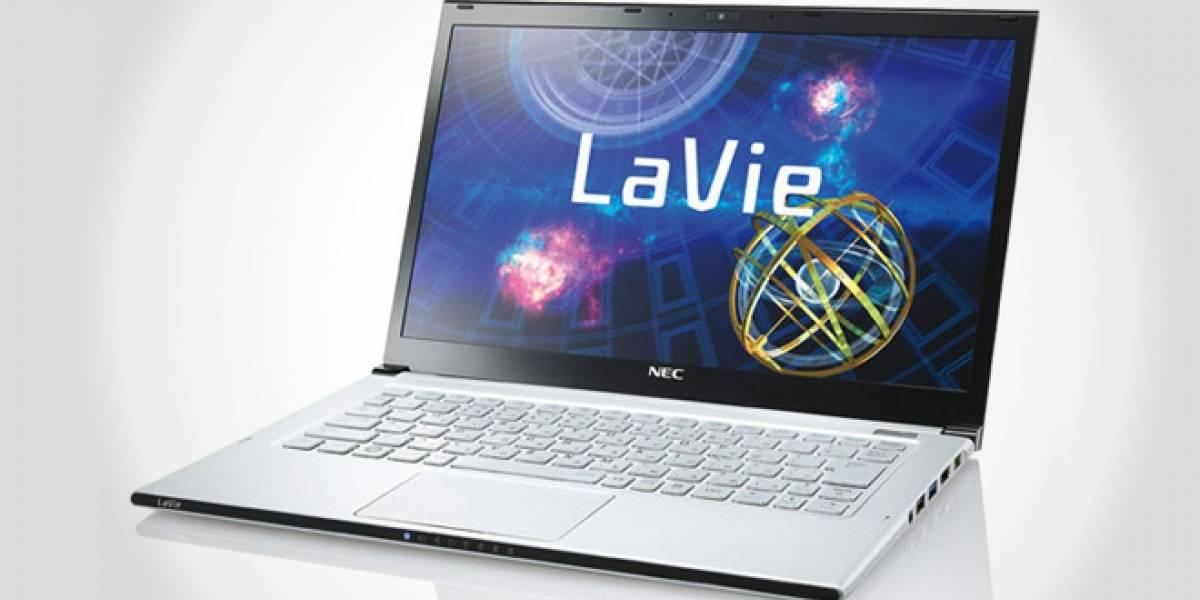 NEC presenta el ultrabook LaVie Z, de 1 kg de peso