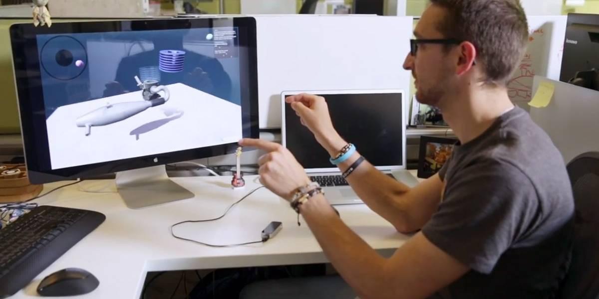 HP anuncia el primer teclado con Leap Motion