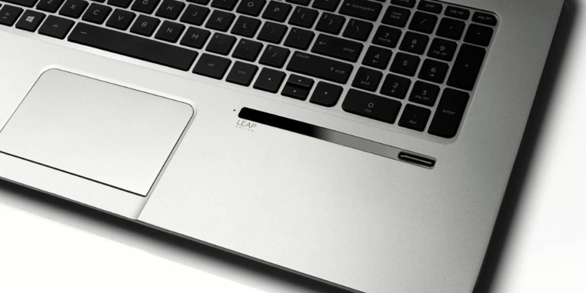 HP lanzará la primer notebook con sensor Leap Motion integrado