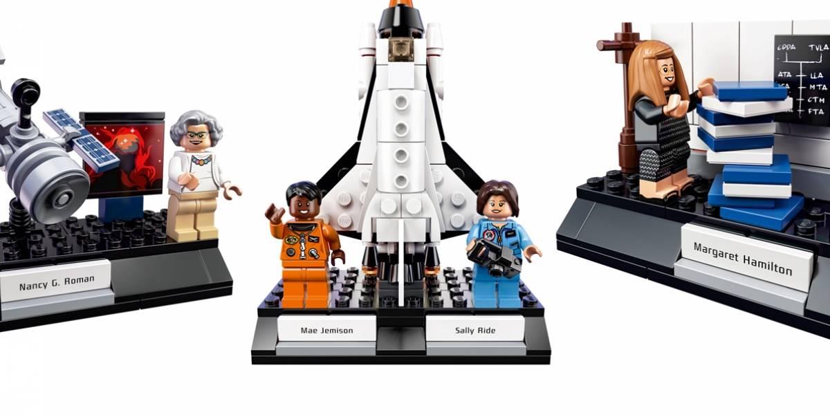 LEGO lanza set de figuras en honor a las mujeres históricas de la NASA