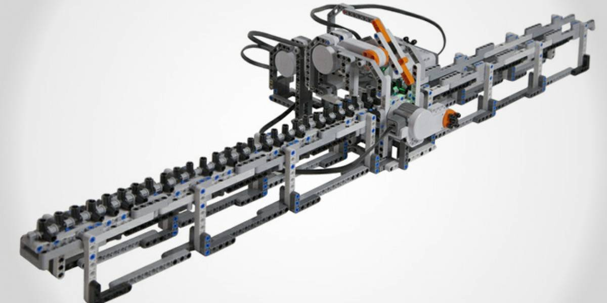 Construyen una máquina de Turing de Lego para honrar a su inventor