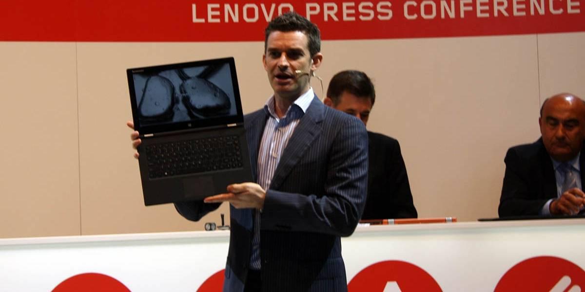 Lenovo Yoga 2 Pro es más delgado, ligero y potente