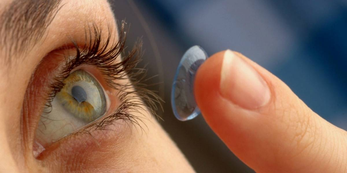 Ahora los lentes de contacto funcionan como pantallas