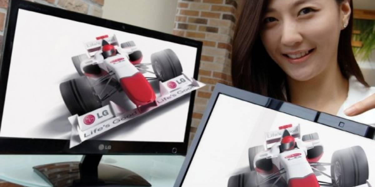 LG lanza monitor 3D sin gafas de 20 pulgadas
