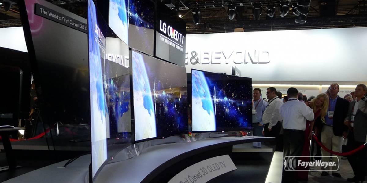 LG comenzará a vender televisores OLED curvos este año