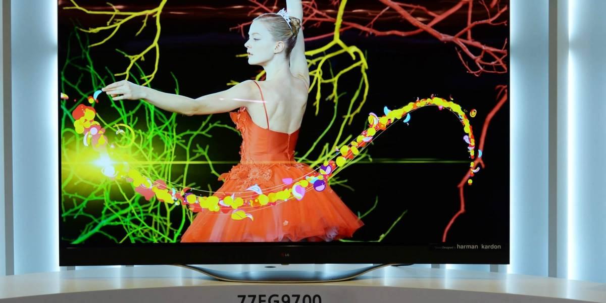 """LG ofrecerá en septiembre el """"primer"""" televisor OLED 4K"""